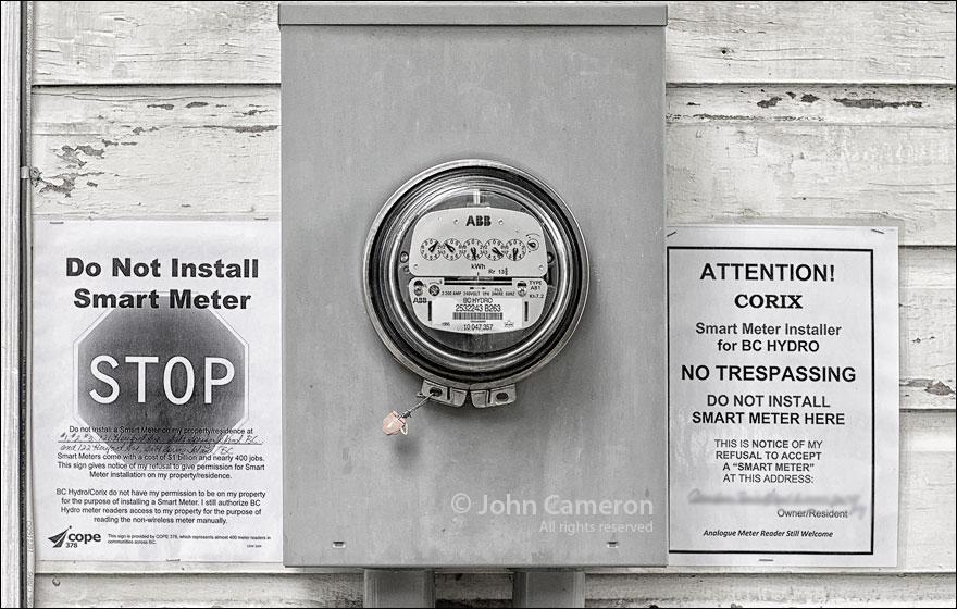 Smart Meter on Salt Spring Island
