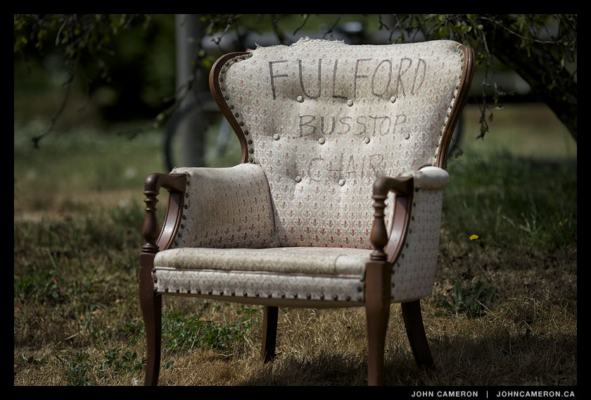 Fulford Bus Stop Chair