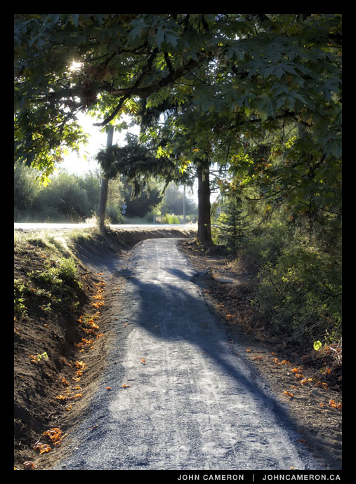 Salt Spring's newest pathway