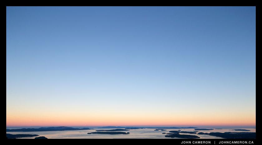 Mount Tuam Sunset