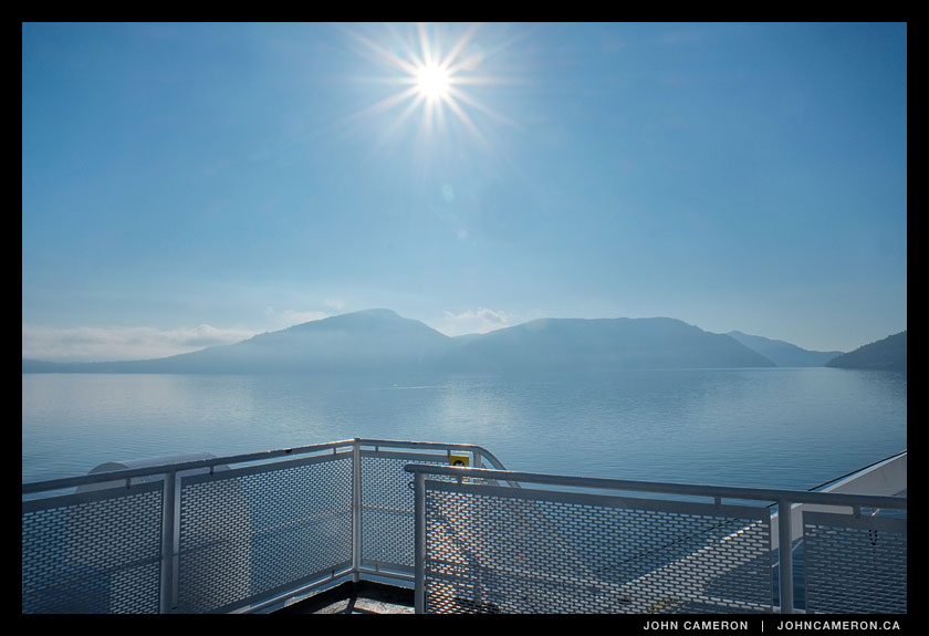 Smooth Sailing aboard the Howe Sound Queen