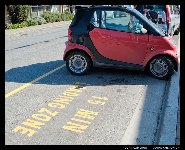 Smart Parking at the Library