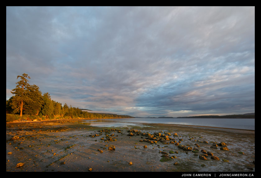 Rocks at Fernwood Beach, Salt Spring Island