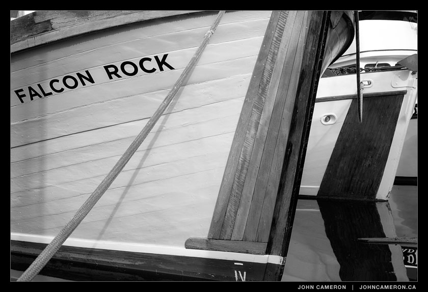Falcon Rock at Ganges 2013