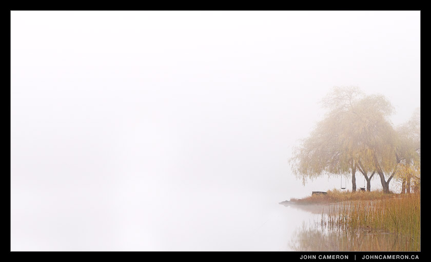 Fog at St. Mary Lake