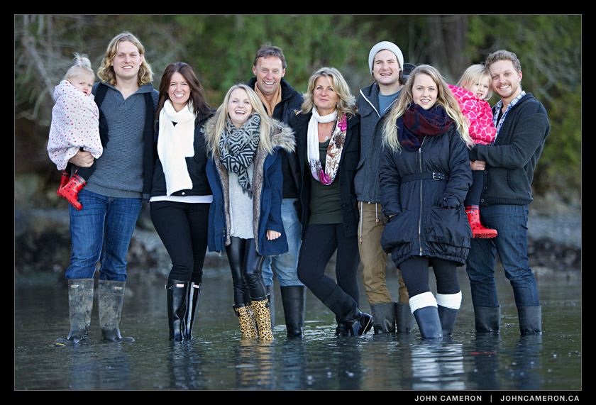 High Tide Family Photo