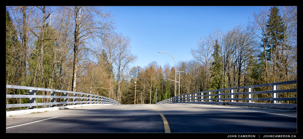 New Chemainus River Bridge on Chemainus Road
