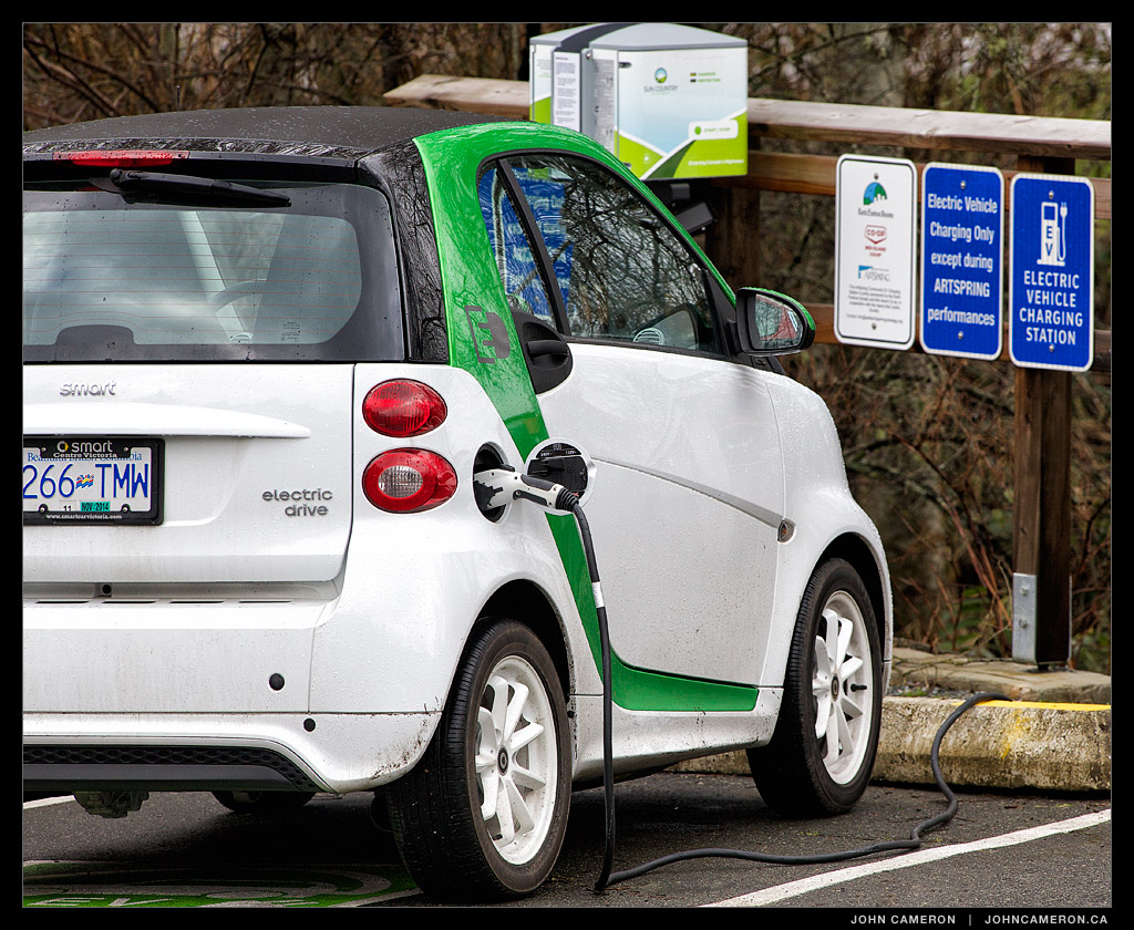 Charge Electric Cars on Salt Spring