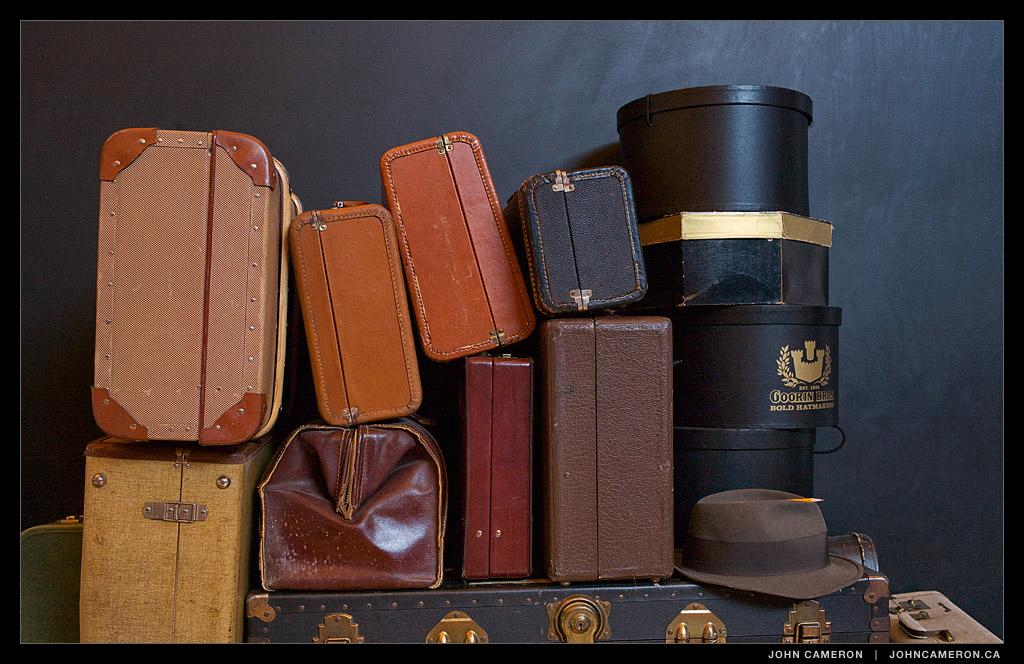 GISPA Vintage Suitcases