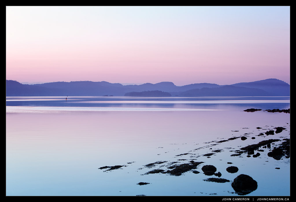 Pastel Dawn, Salt Spring Island