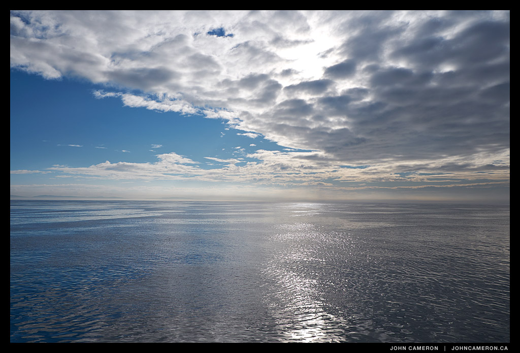Georgia Strait from the Bowen Queen