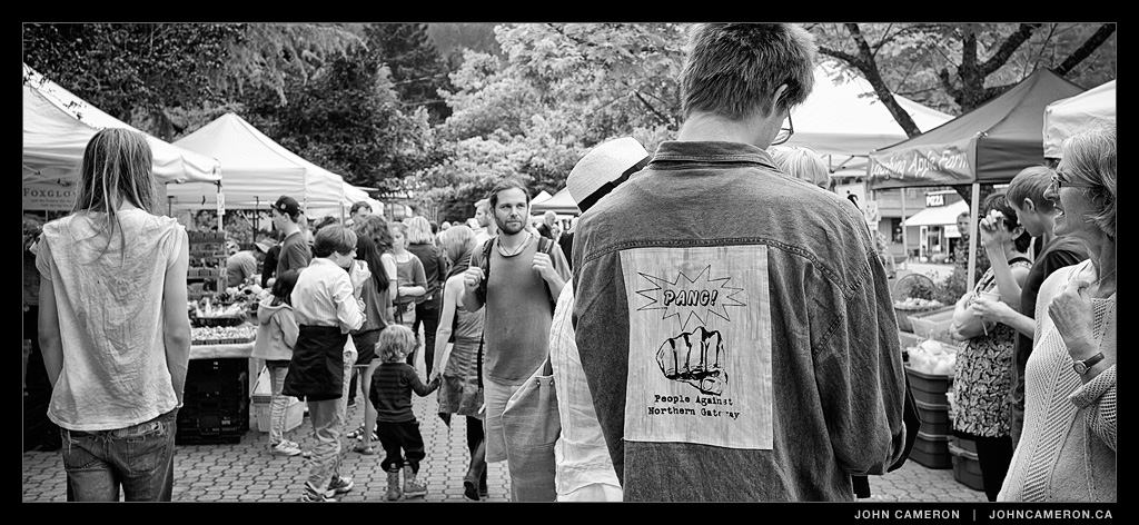 At the Salt Spring Tuesday Market
