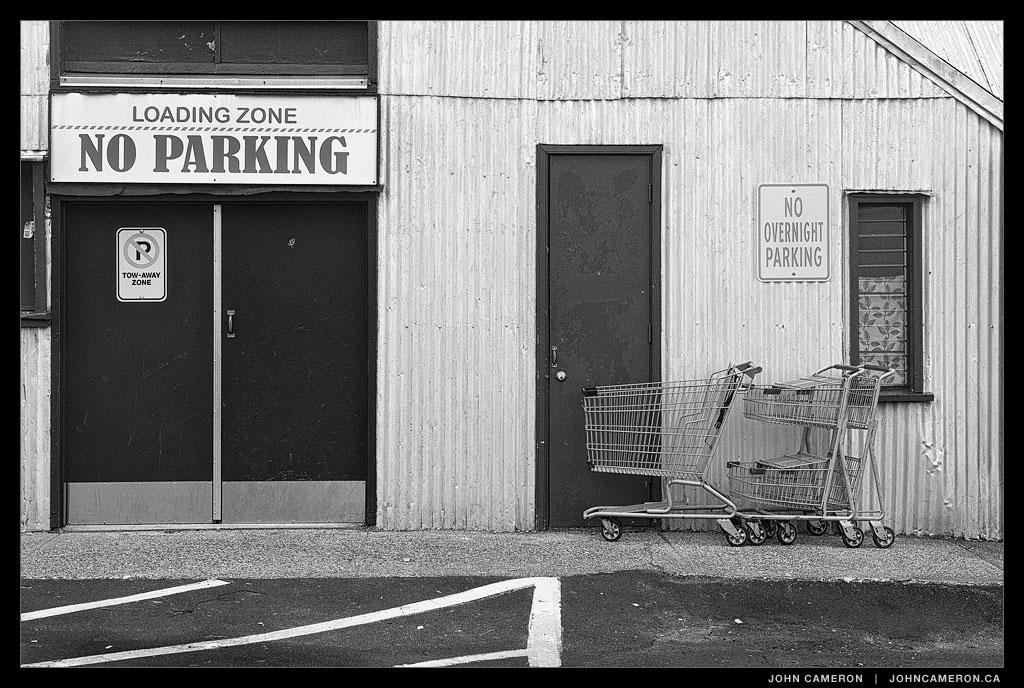 No Parking on Salt Spring