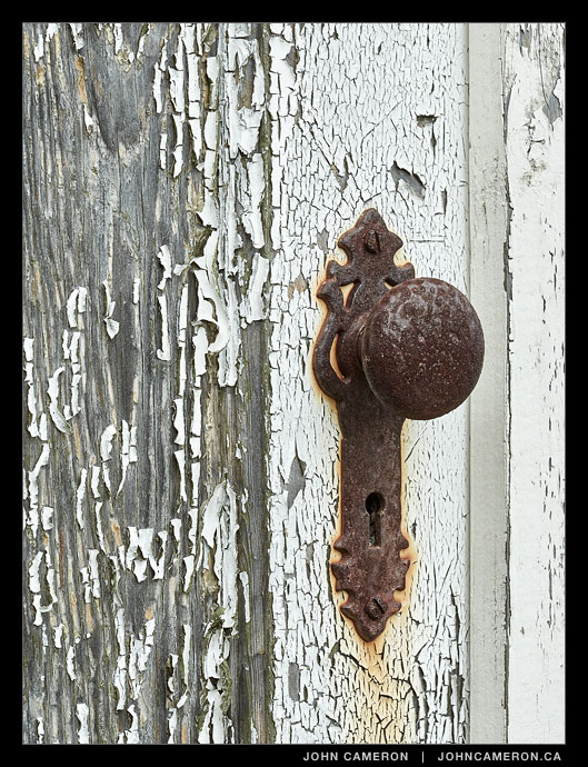 Doorknob with Character