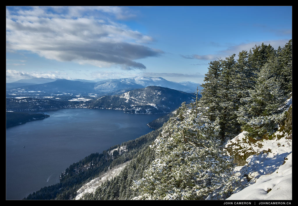 Mount Maxwell and Vancouver Island
