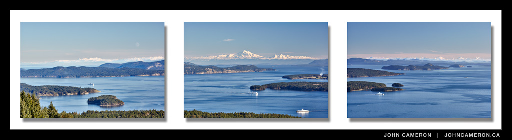 Gulf Islands Triptych