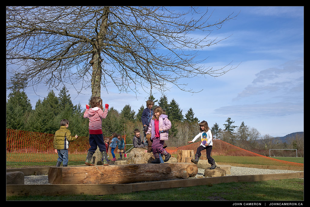 Fernwood Kids on Natural Playground