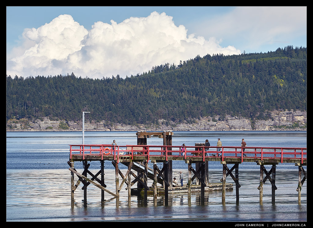 People Pier, Fernwood on Salt Spring Island