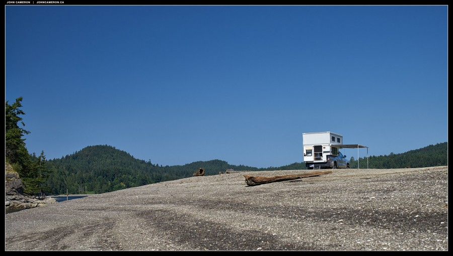 Four Wheel Camper Fleet on the Gulf Islands