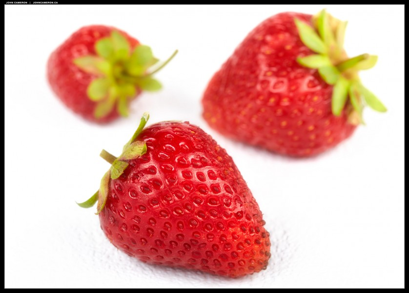 Tuesday Market Strawberries