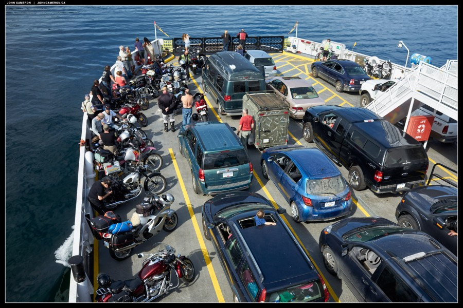 Summer Ferry Crossing