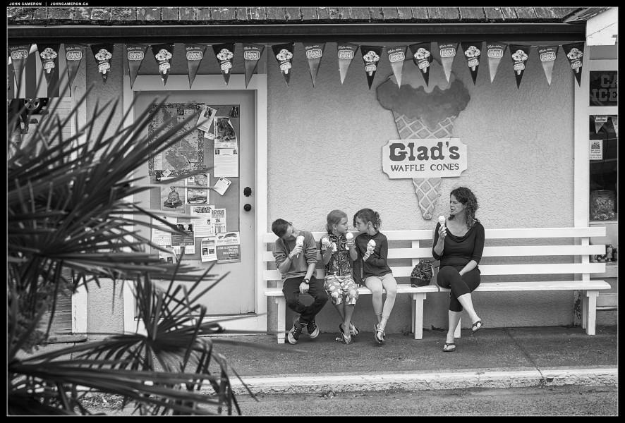 Ice Cream Antics at Glads