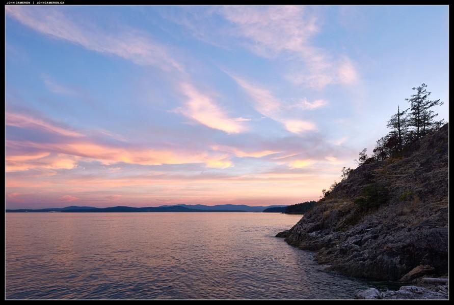 South Salt Spring Island View