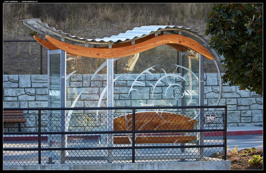 Moon Snail Bus Shelter
