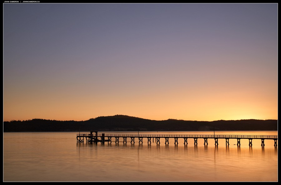 Sunrise on Salt Spring Island