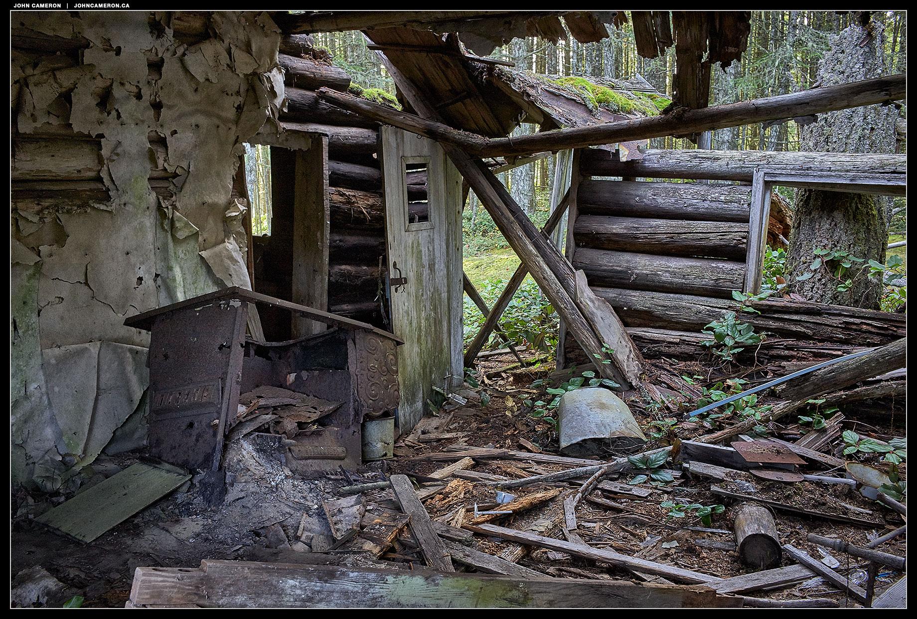 Salt Spring Cabin