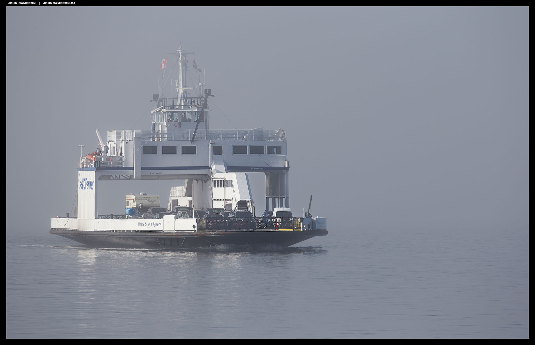 Howe Sound Queen in Fog