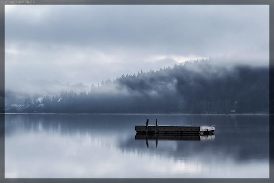Winter Evening, St. Mary Lake