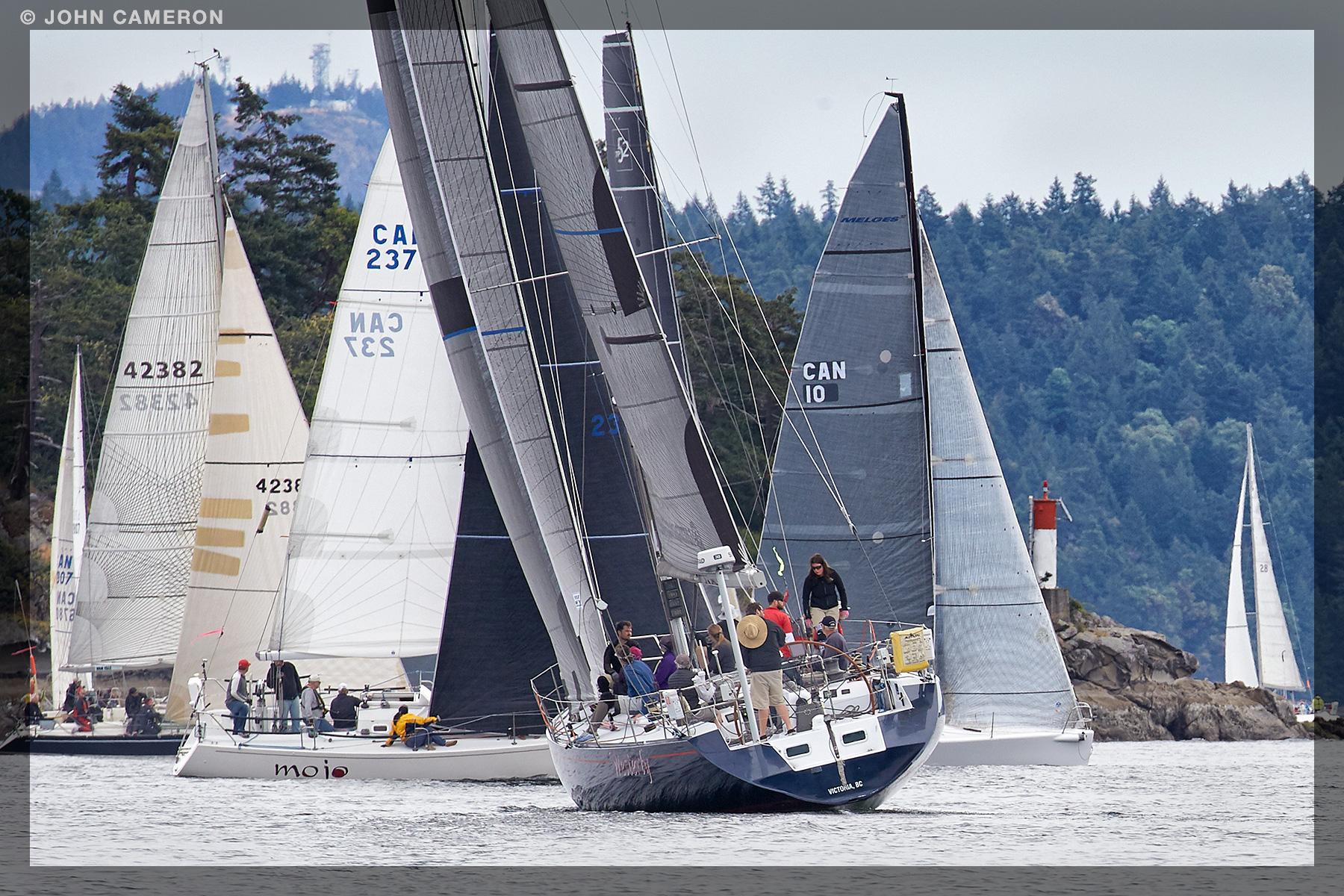 Round Saltspring 2016 Sailing Race