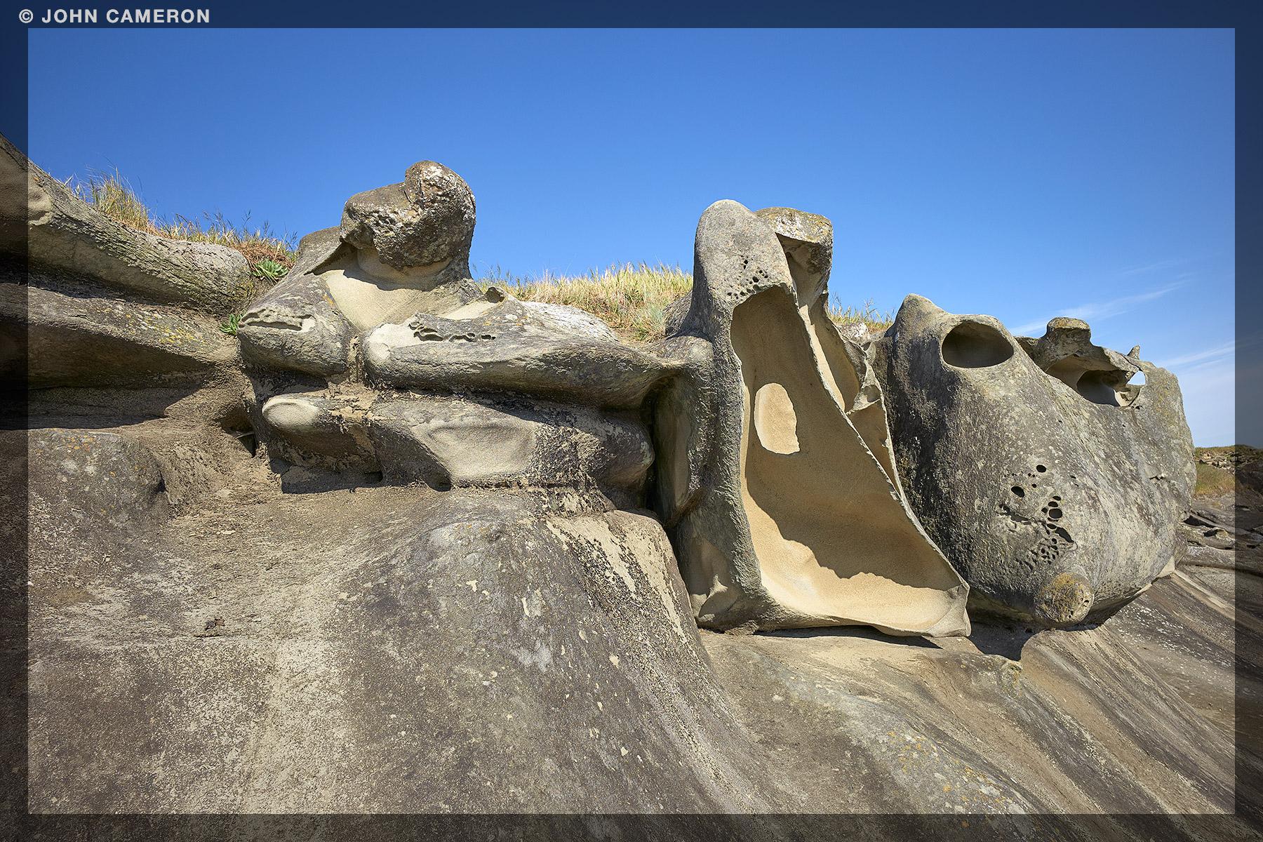 Sandstone at Saturna Island2