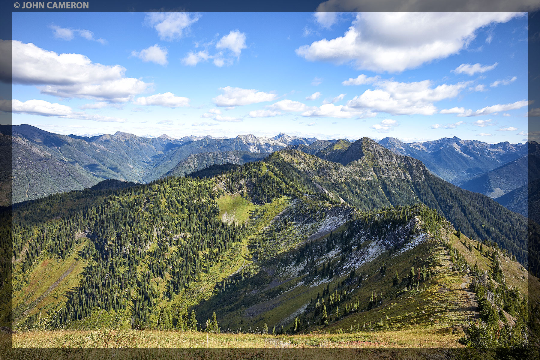 Trail to Idaho Peak
